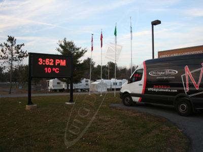Limoges – Outdoor LED Pylon