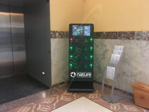 A UTG Mobile Charging Station at the Museum of Nature