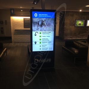 Museum of Nature – LCD Standup Screen