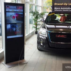 Myers GMC Dealership – LCD Standup Screen