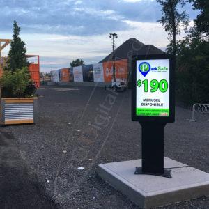 ParkSafe Parking – Outdoor Menu Box