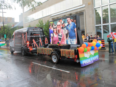 Ottawa Pride Parade – Mobile LED Trailer