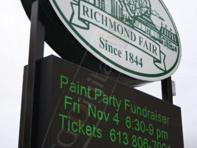 Richmond Fair – Outdoor LED Pylon