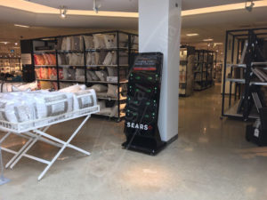 A UTG Mobile Charging Station at Sears