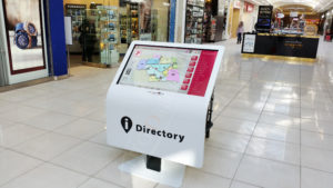A UTG Touch Screen at St Laurant Mall