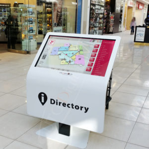 St Laurant Mall Directory – Touch Screen