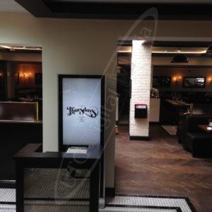 Thursdays Restaurant – LCD Standup Screen