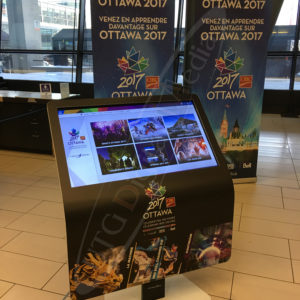 Ottawa International Airport – Touch Screen