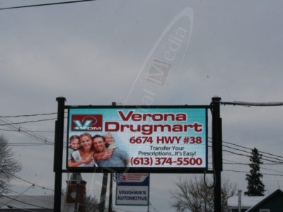 Verona Drug Mart – Outdoor LED Pylon