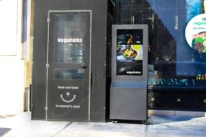 Wagamama Outdoor Battery Powered Digital Display