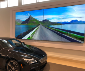 UTG DELIVERS END-TO-END VIDEO WALL SOLUTION FOR OTTO'S BMW OTTAWA
