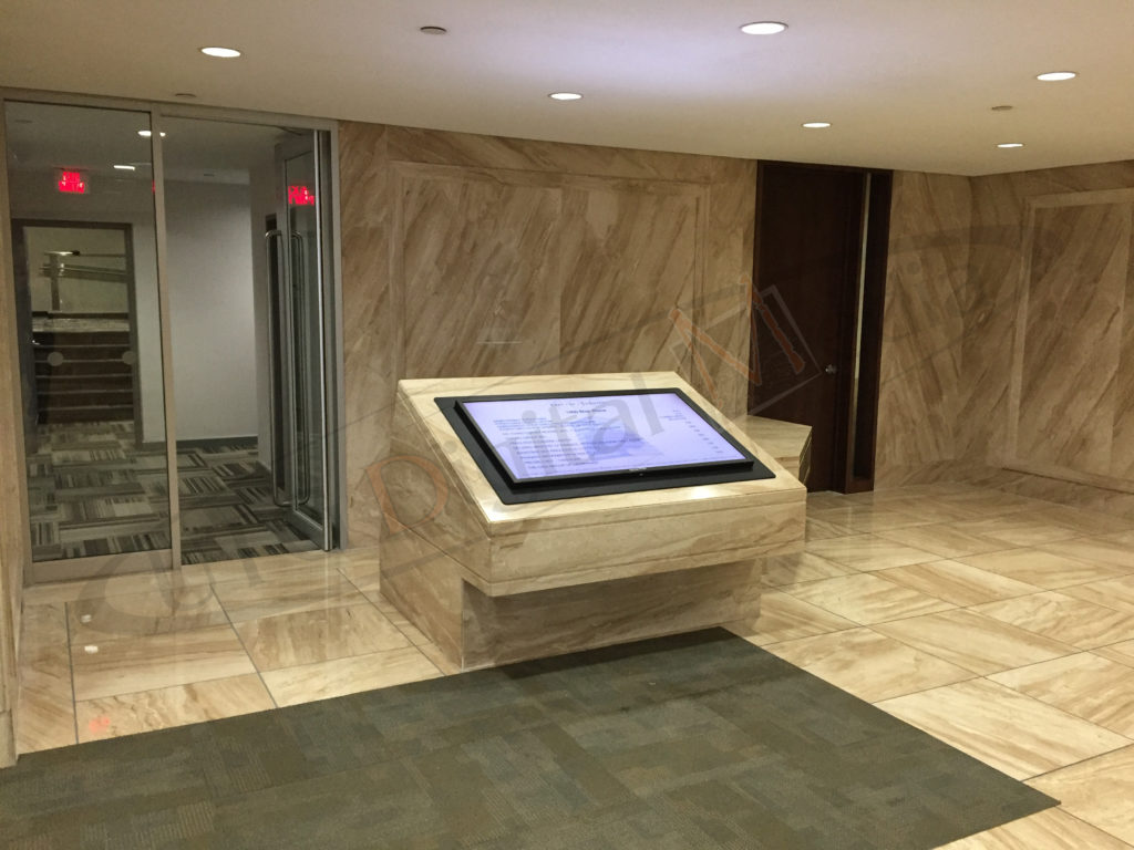 Blair Place – Wall Mounted LCD Screen