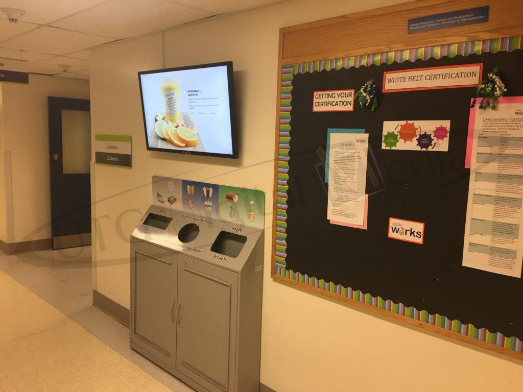 Cheo Hospital – Wall Mounted LCD Screen