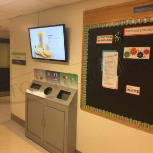 Cheo Hospital – Wall Mounted LCD Screen