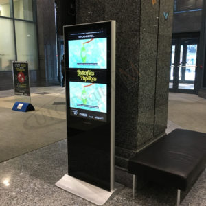 Constitution Square Standup Hallway – Indoor LCD Standup Screen