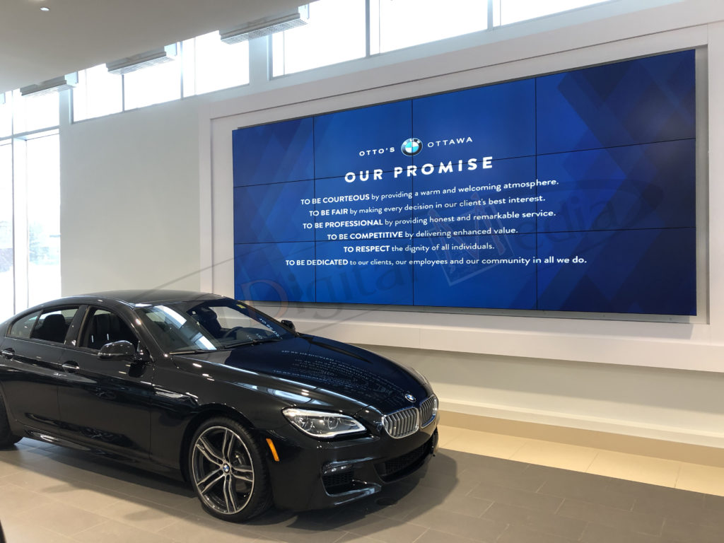 Otto's BMW – Video Wall