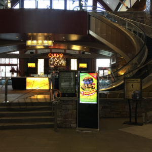 River Rock Casino – LCD Standup Screen