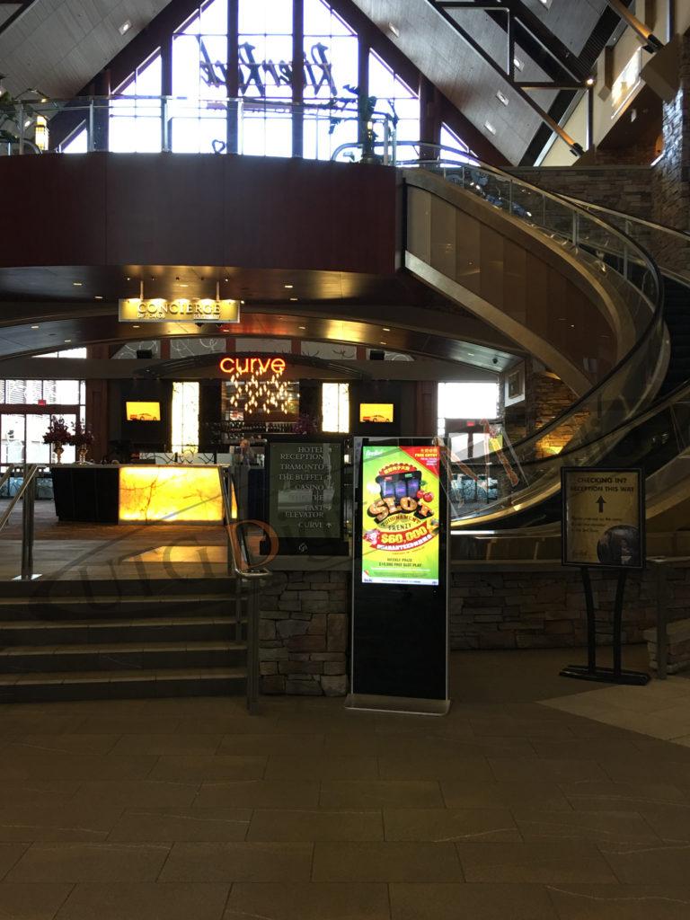 River Rock Casino – LCD Standup Screen