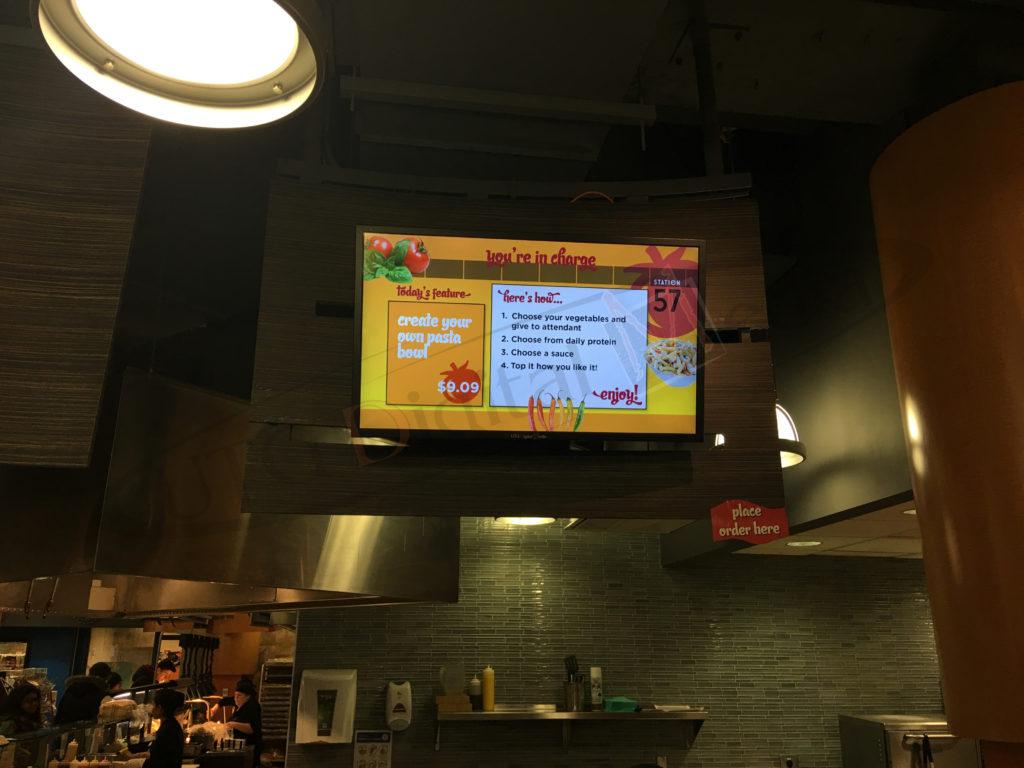 University of Waterloo – Wall Mounted LCD Screen
