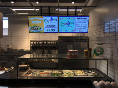 University of Waterloo – Wall Mounted LCD Screen