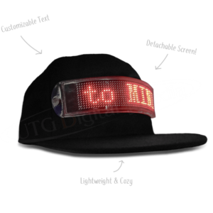 Digital LED Hat – VIRAL SENSATION
