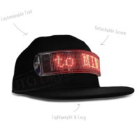 DIGITAL LED HAT – VIRAL SENSATION
