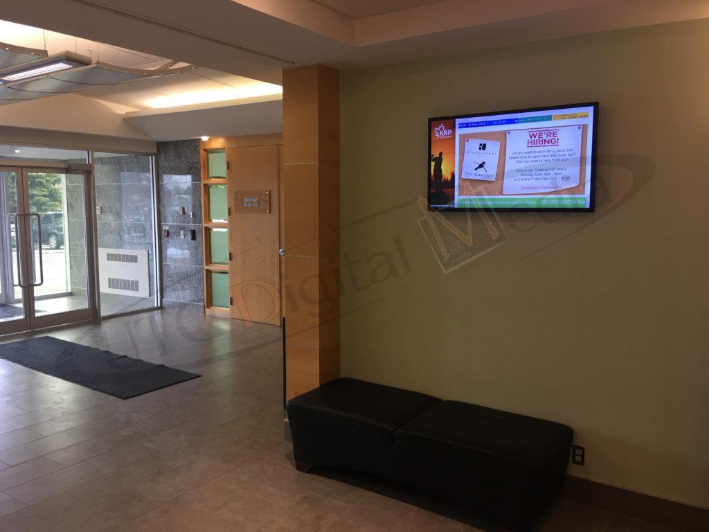KRP PROPERTIES – WALL MOUNTED LCD SCREEN