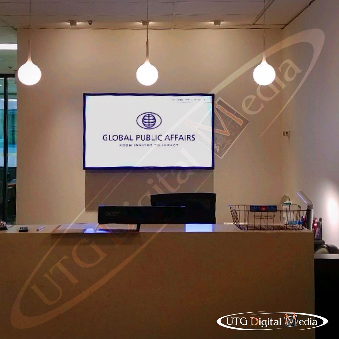 Global Affairs – Wall Mounted LCD Screen