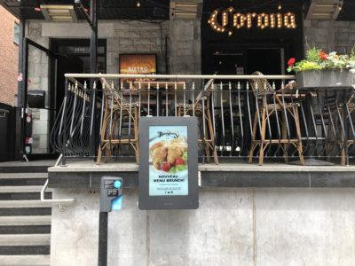 Outdoor Menu Box – Thursdays Restaurant