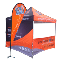 Custom Canopy Tent & Flags