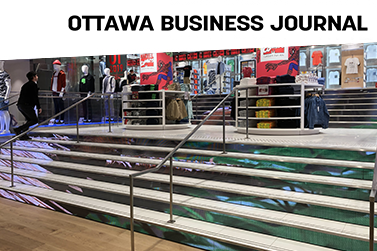 LED Stairs – Toronto Eaton Centre