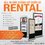 How to Make Your Next Event Pop With UTG's All in One Stand-Up Display Rentals