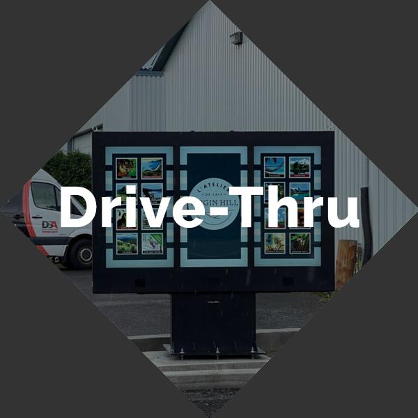 Drive-Thru button