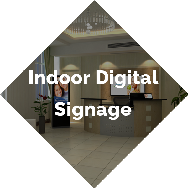 Indoor Digital Signage Button