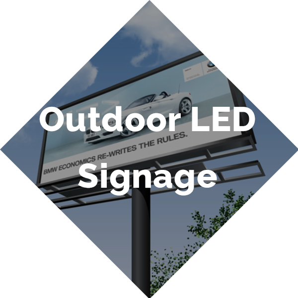 Outdoor LED Signage Button
