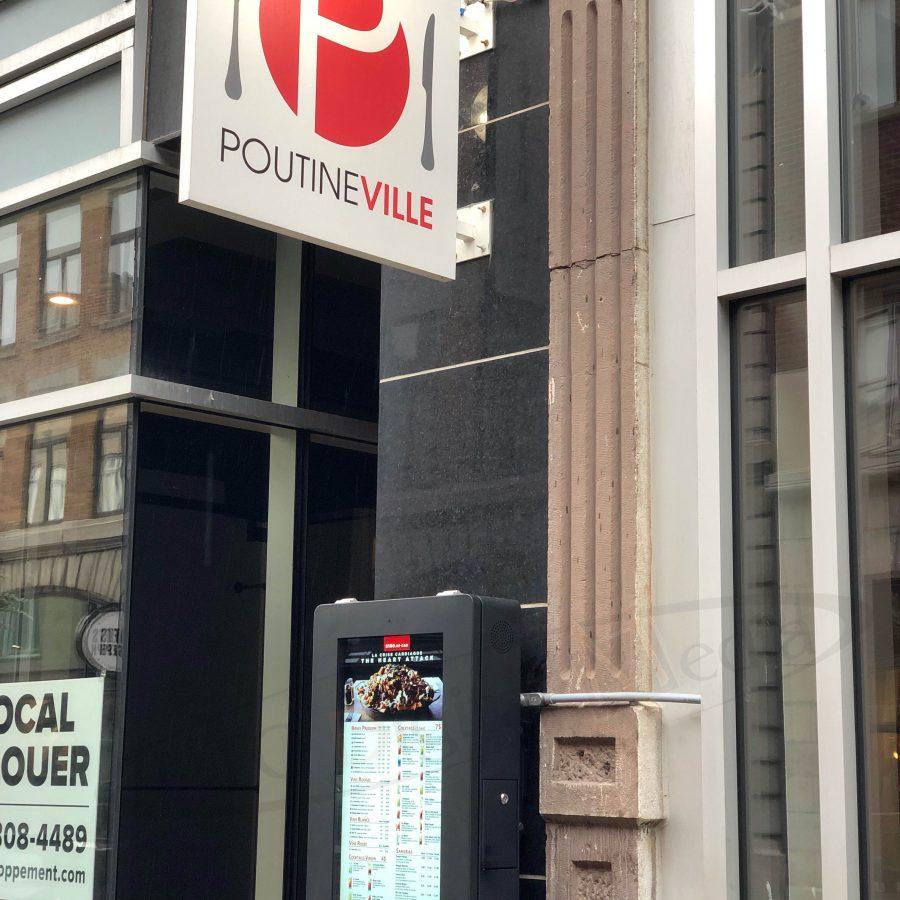 PoutineVille - Quebec - Outdoor Menu Box