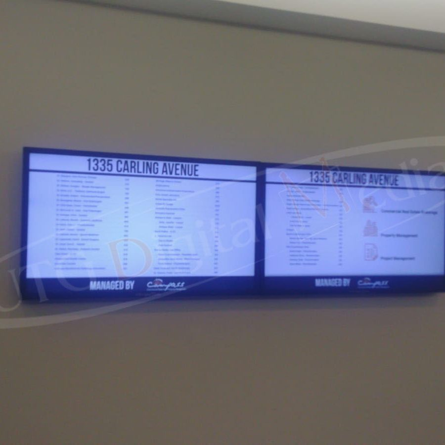 Digital Signage Wall Mounted