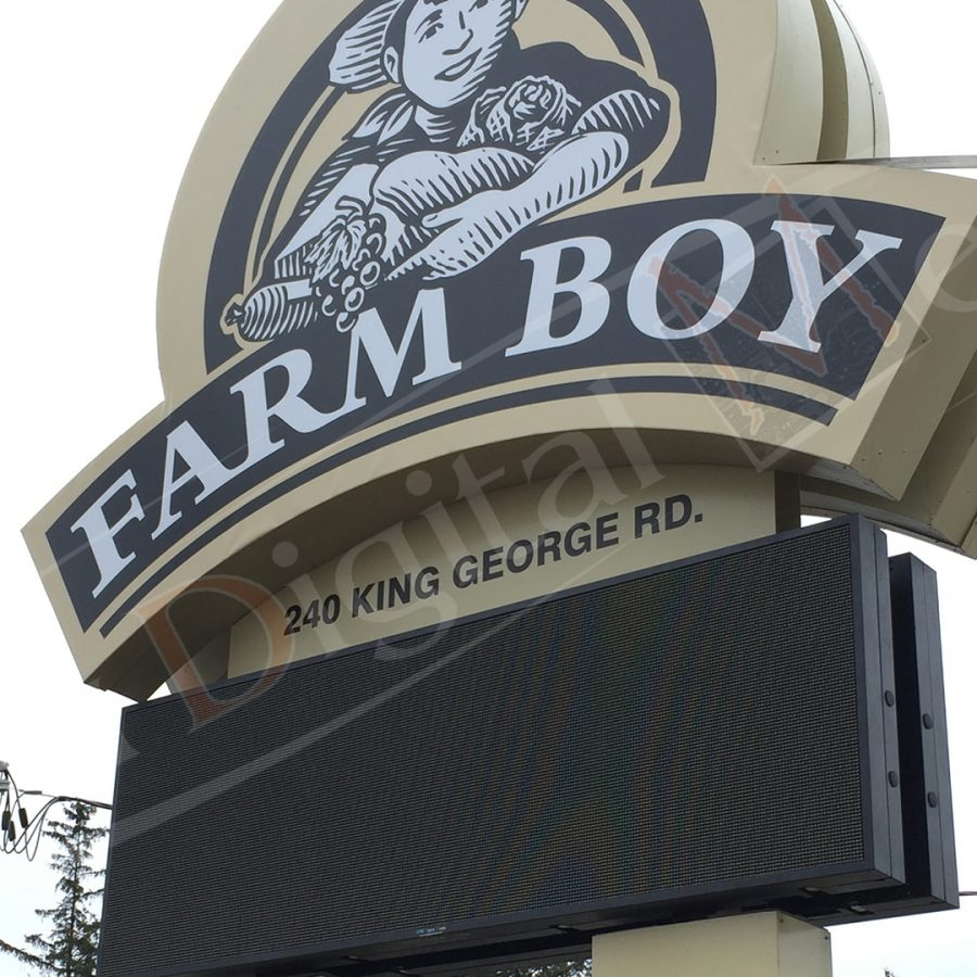 Farmboy - LED Pylon