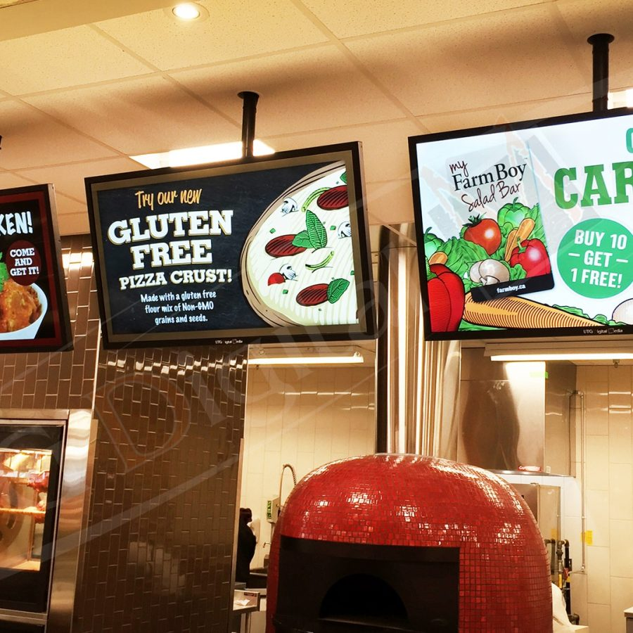 Farmboy Wall Mounted Screens by UTG Digital Media